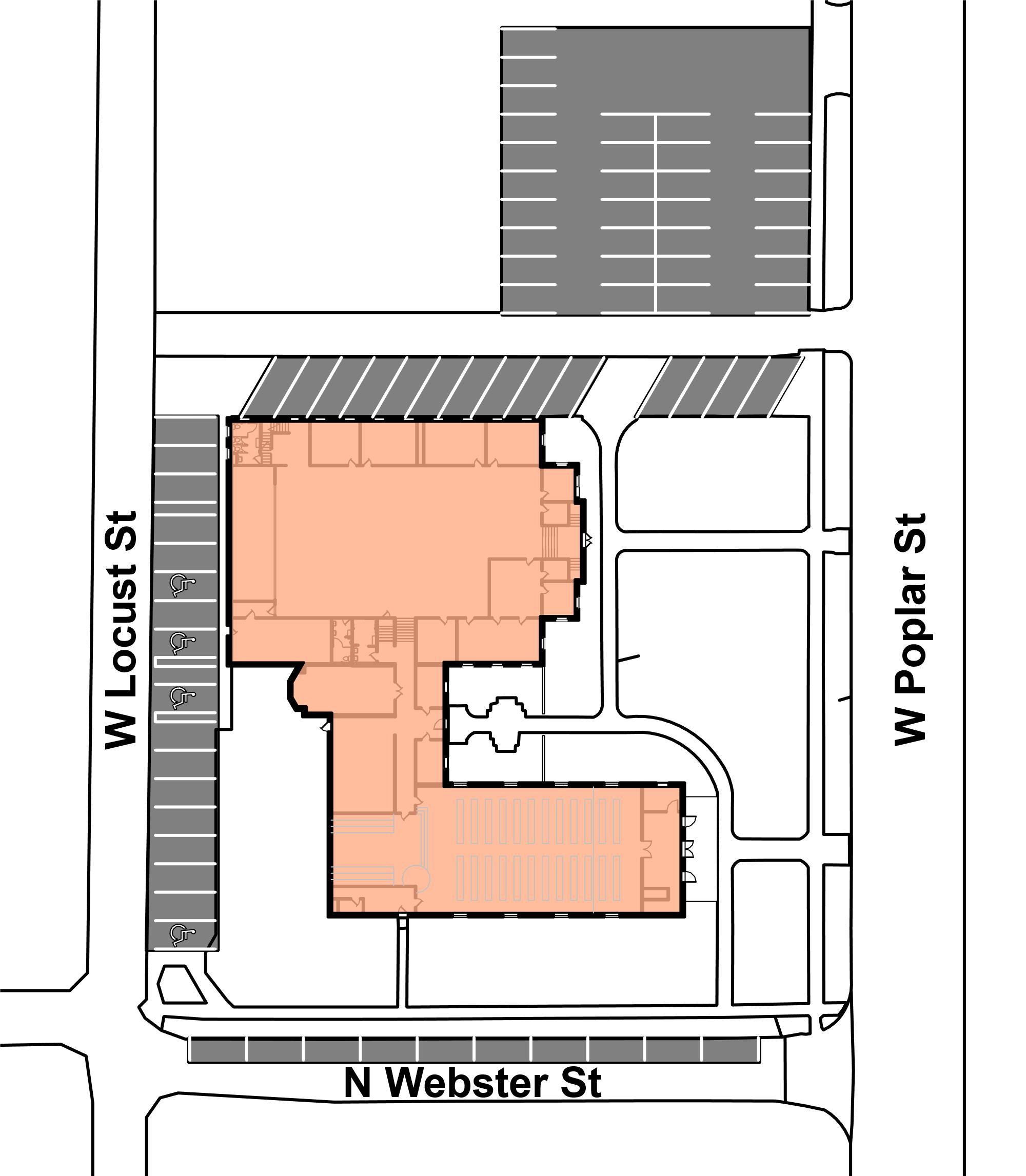 FUMC - Floor Plan - EXISTING PARKING PRESENTATION